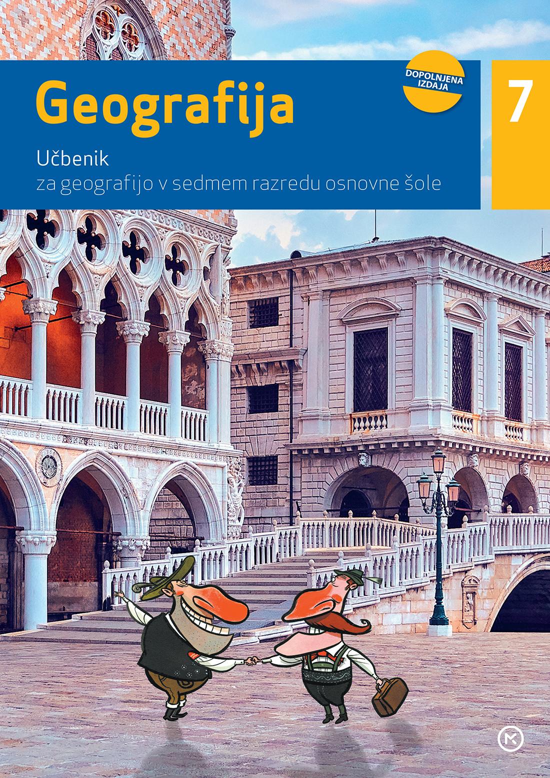 Geografija 7, učbenik - dopolnjena izdaja 2020