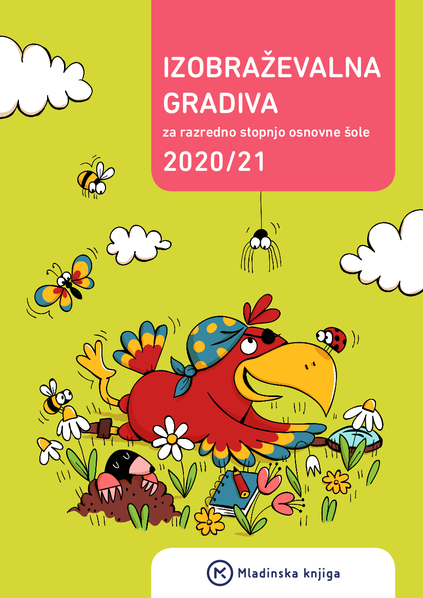 Katalog učnih gradiv za razredni pouk 2020/21