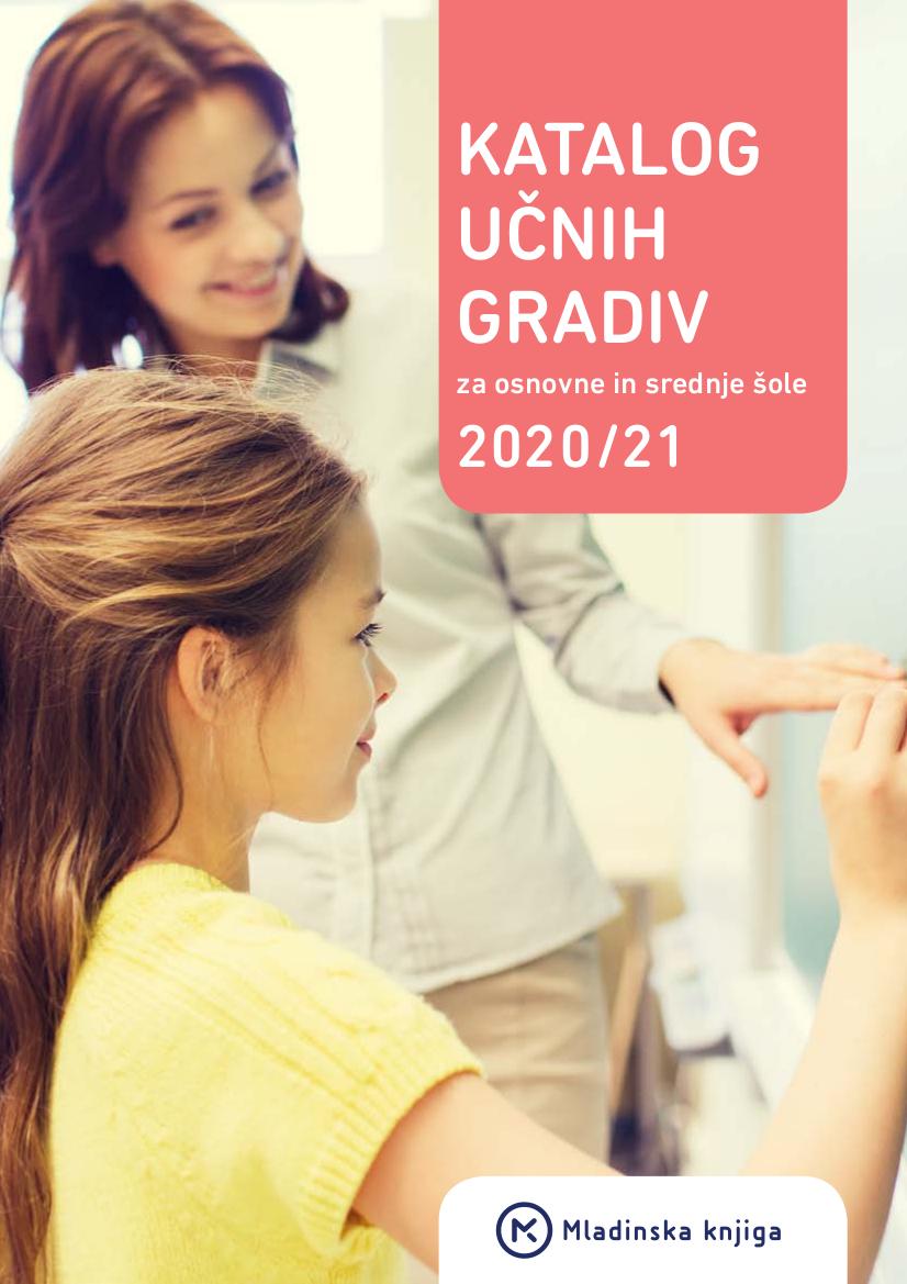 Katalog učnih gradiv za osnovno in srednjo šolo 2020/21
