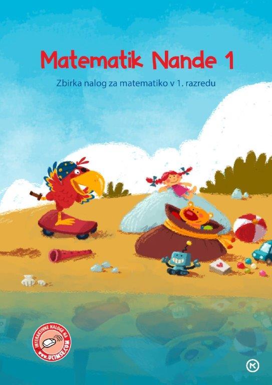 Matematik Nande 1, naslovnica