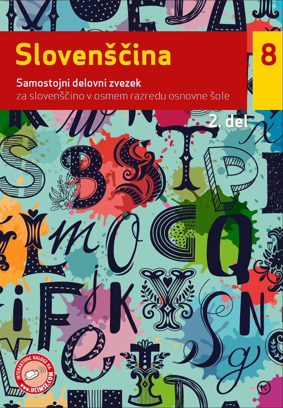 Slovenščina 8, 2. del