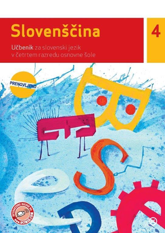 Slovenščina 4, učbenik