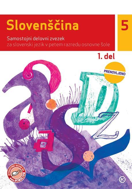 Slovenščina 5, 1. del