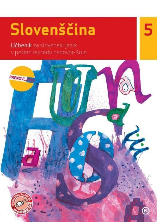 Slovenščina 5, učbenik